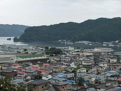 震災前の大槌町