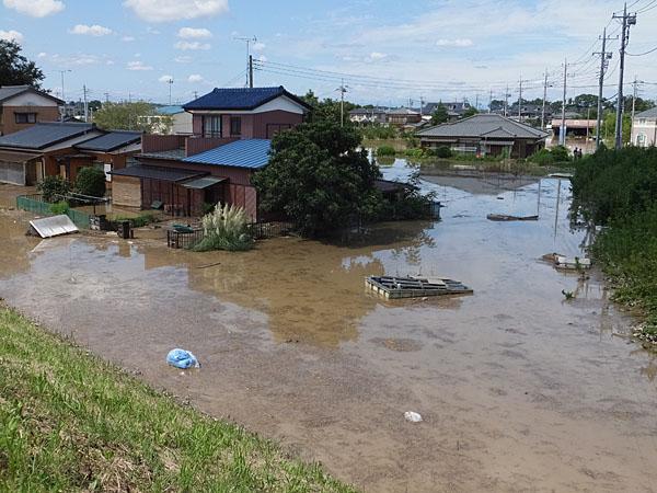 鬼怒川堤防決壊浸水被害